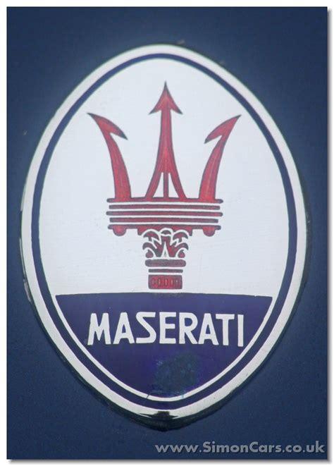 Maserati Badge by Simon Cars Maserati Mistral