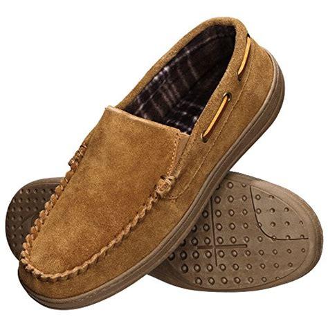 rockport moccasin slippers rockport s memory foam suede slip on indoor outdoor