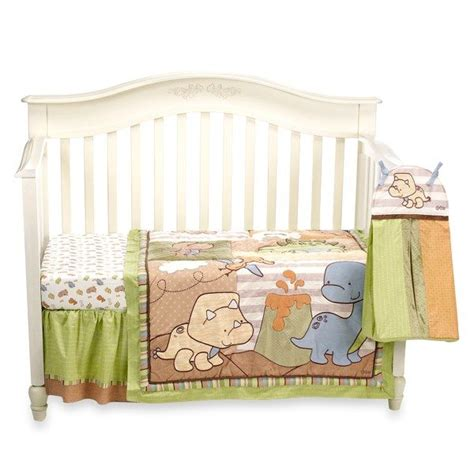 dinosaur crib bedding set dinosaur crib bedding set for my future nuggets pinterest