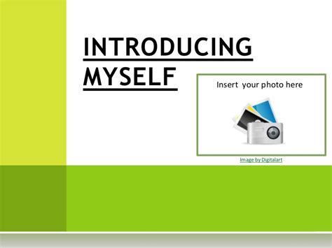 self introduction powerpoint template introducing myself template
