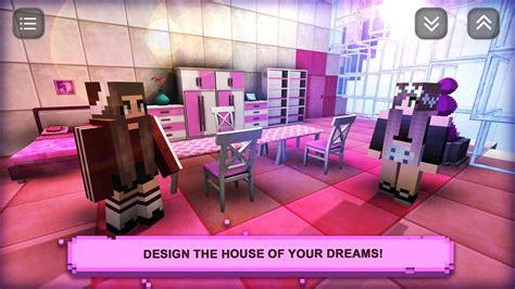 sim design home craft fashion games  girls apk
