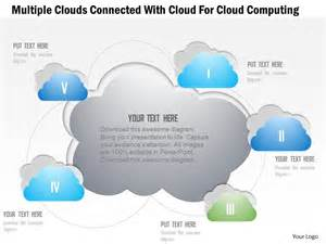 cloud template for powerpoint 1214 clouds connected with cloud for cloud