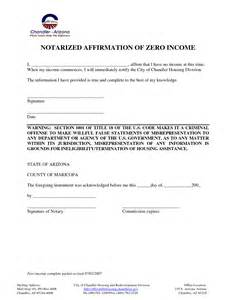 Letter Proof Of No Income Self Employed Income Worksheet Fioradesignstudio