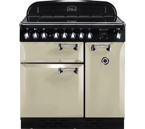 kitchen range with induction hob buy rangemaster elan 90 electric induction range cooker chrome free delivery currys