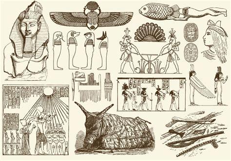 sepia egypt art   vectors clipart graphics