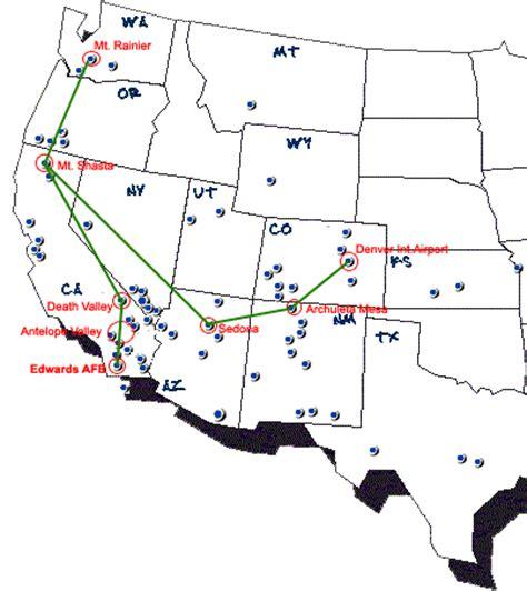 map las vegas denver the denver airport material