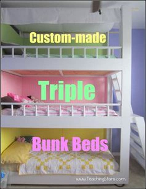 3 Way Bunk Bed 1000 Ideas About Bunk Beds On Pinterest Bunk Bunk Bed And Bunk Bed Plans