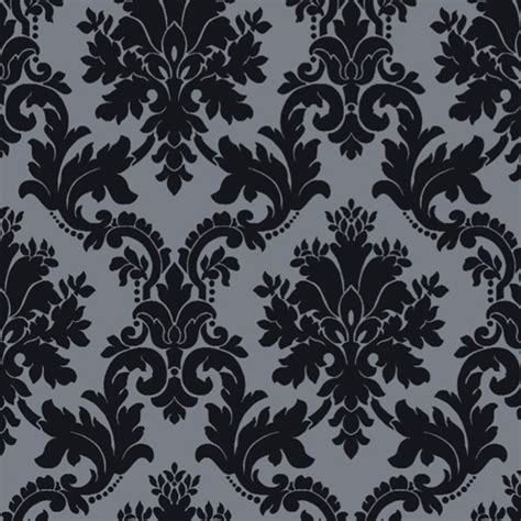 black and white velvet wallpaper arthouse palais black velvet 980609 arthouse select