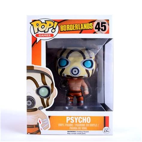 Pop Funko Borderlands Psycho pop no 45 borderlands psycho