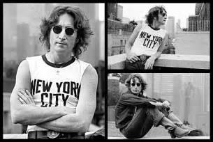 Tshirt Lennon Yn Style vintage everyday lennon new york 1974 by bob gruen