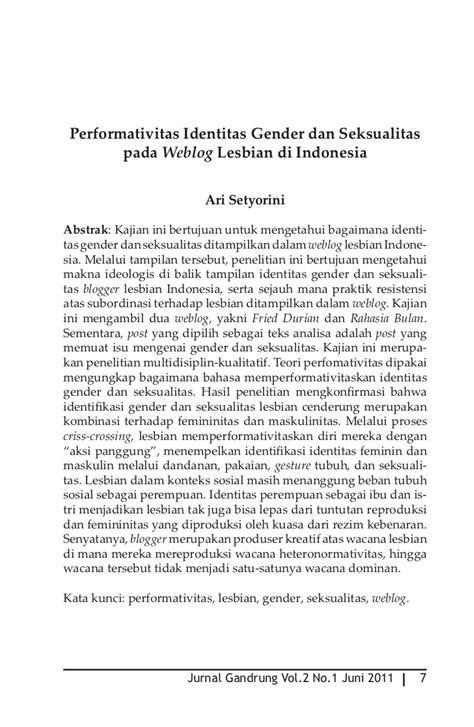 Rezim Gender Muhammadiyah Kontestasi Gender Identitas Dan E Mura jurnal gandrung vol2 no1 e jurnal