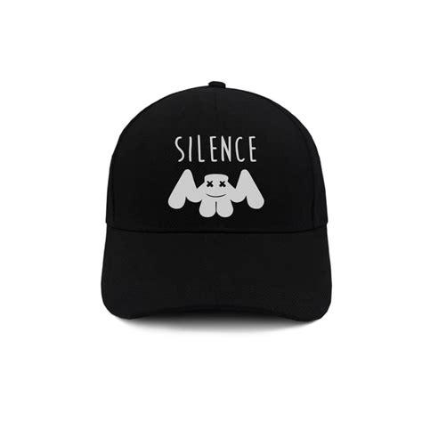 topi baseball marshmello marshmello silence indoclothing