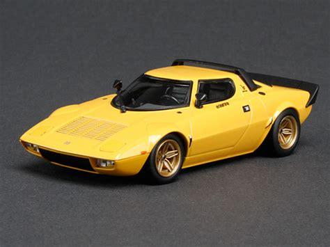 hpi lancia stratos hf stradale yellow diecast model cars