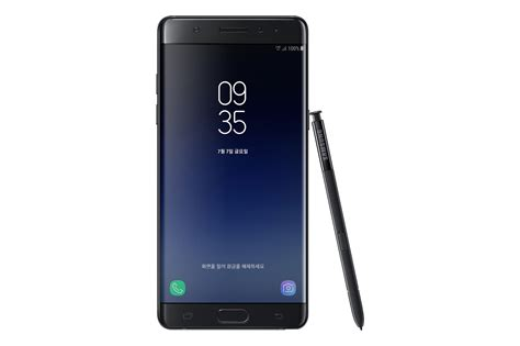 Samsung Note Samsung S Galaxy Note Fan Edition Is A Refurbished Galaxy Note 7 With Bixby The Verge