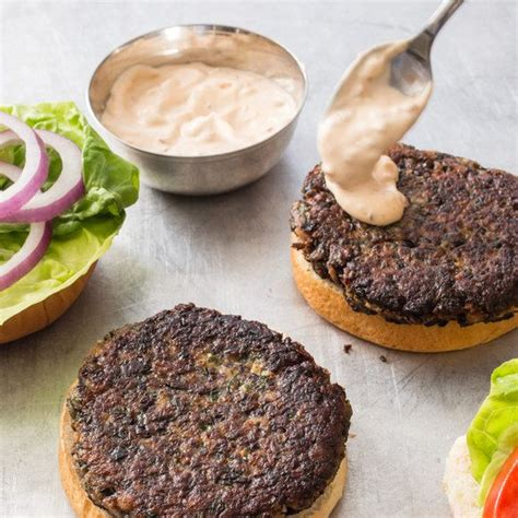 Chipotle Test Kitchen by Americas Test Kitchen Black Bean Burgers Chipotle
