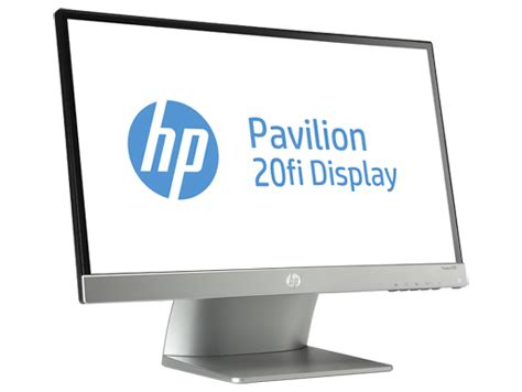 Monitor Hp Pavilion 20fi hp pavilion 20fi 20 inch diagonal ips led backlit monitor