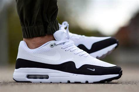 Original Bnib Nike Air Max 1 Ultra Essential Black nike air max 1 ultra essential white black sneaker bar