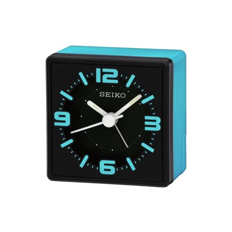 Bedside L With Clock by Seiko Clock Bedside Alarm Clock Qhe091l Gifts