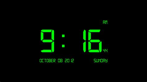 wallpaper clock windows 7 download digital clock 7 2 02