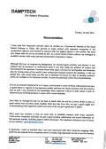 Recommendation Letter Japan Documentation Japan Country Manager Pedersen