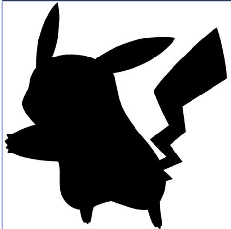 Pikachu Silhouette by Ba ru ga on DeviantArt