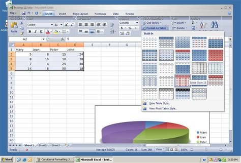 Change Table Style Excel by How To Change Table Style In Excel Ms Excel 2010