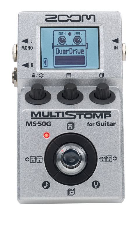 Zoom Ms50g Ms 50g Ms 50g Multistomp Pedal Ms 50g Multistomp Guitar Pedal Zoom