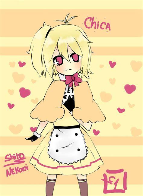 imagenes de fnaf kawaii anime fnaf chica anime by shironekoroi on deviantart