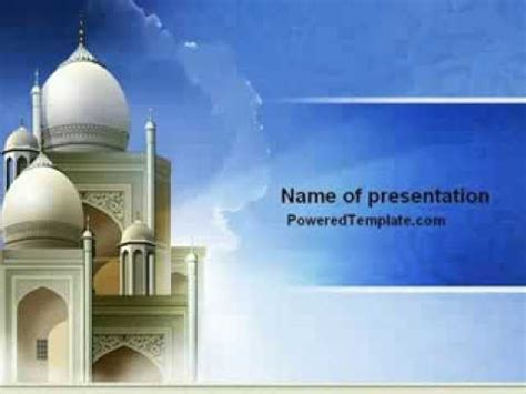 Islamic Architecture Powerpoint Template By Islamic Powerpoint