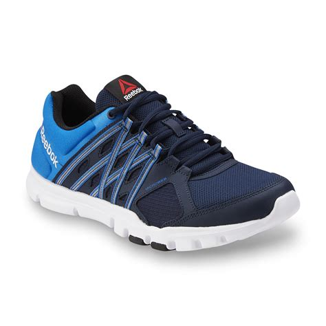 Reebok Memory Foam Biru Navy reebok s yourflex athletic shoe blue navy