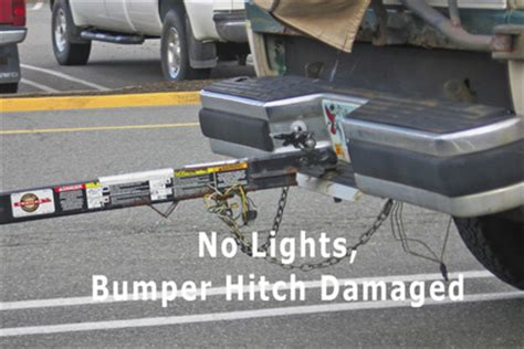 Improper Boat Hitching And Distracted dangerous trailers they re out there