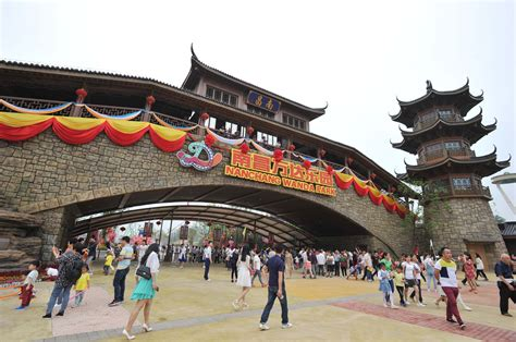 list theme parks china dalian wanda opens first theme park in china as it takes