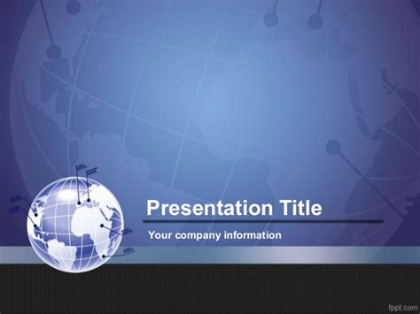 powerpoint themes slideshare global partner ppt presentation template export business