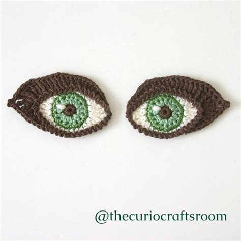 eye pattern pinterest crochet eyes pattern applique motif for by