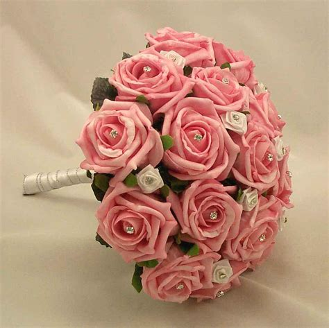 Wedding Pink Flowers by Bouquet With Pink Wedding Flowers Ipunya