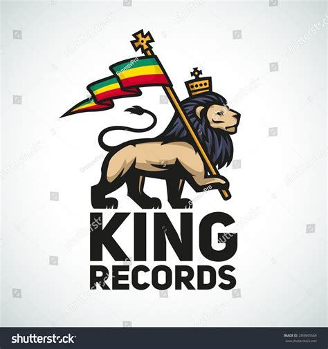 design logo reggae judah lion rastafari flag king zion stock vector 289843568