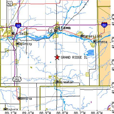 grand il map grand ridge illinois il population data races