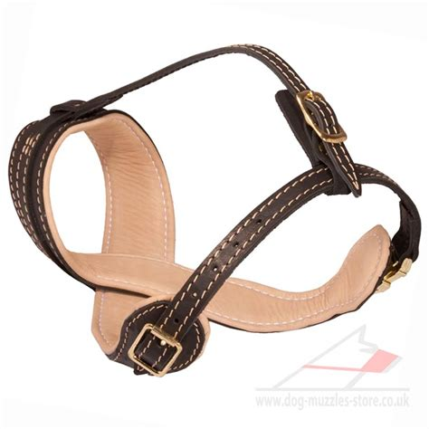 soft muzzle soft leather muzzle for stop barking 163 60 70