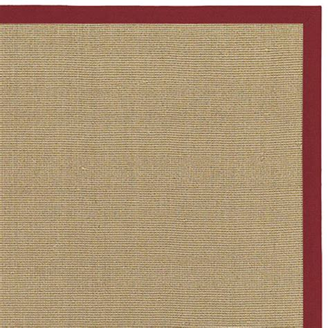 Rug Border by Bay Sisal Rug With Border By Chandra Rugs
