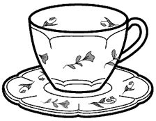 Teacup Outline Drawings by Cup Line Drawing Pictures To Pin On Pinsdaddy