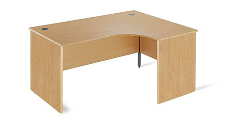 Ergonomic Office Desk Ergonomic Office Desk With Panel End Legs 1778mm Beech