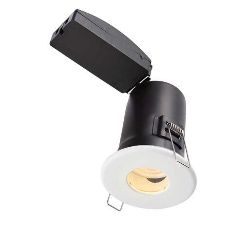 bathroom gu10 downlights saxby shieldplus mv fire rated ip65 bathroom led downlight