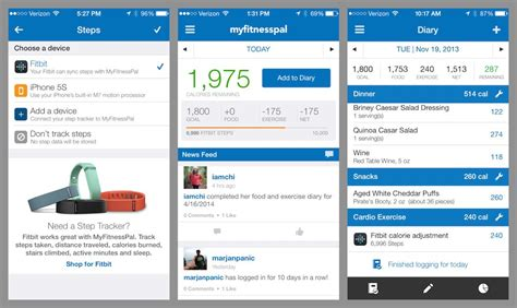 my fitness pal app android now you can track your steps in myfitnesspal myfitnesspal