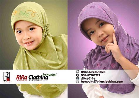 konveksi jilbab anak riraclothing