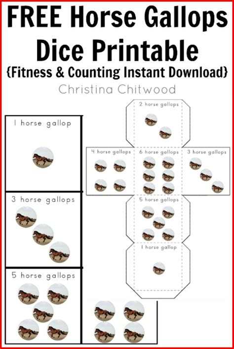 printable exercise dice free kids printables archives page 2 of 3 christina