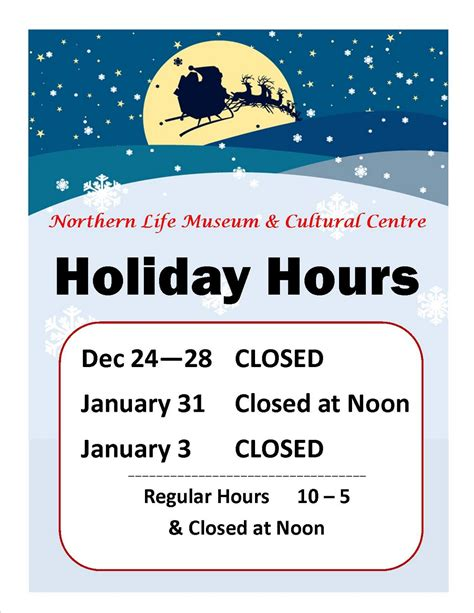 business closed sign template northern museum cultural centre news museum