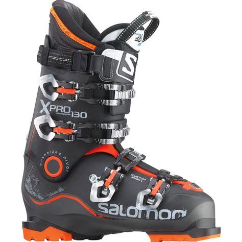 salomon ski boots salomon x pro 130 ski boots 2015 evo outlet