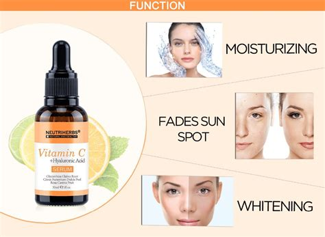 Vitamin C Serum Active Ingredients label serum vitamin c serum organic