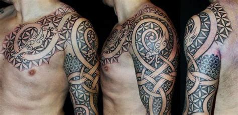 danish tattoos 70 viking tattoos for germanic norse seafarer designs