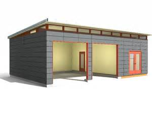 Rv Garage Plans And Designs 24 x 34 garage amp shop modern shed design westcoast